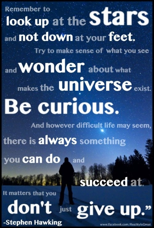 Quote Of Stephen Hawking Quotesaga