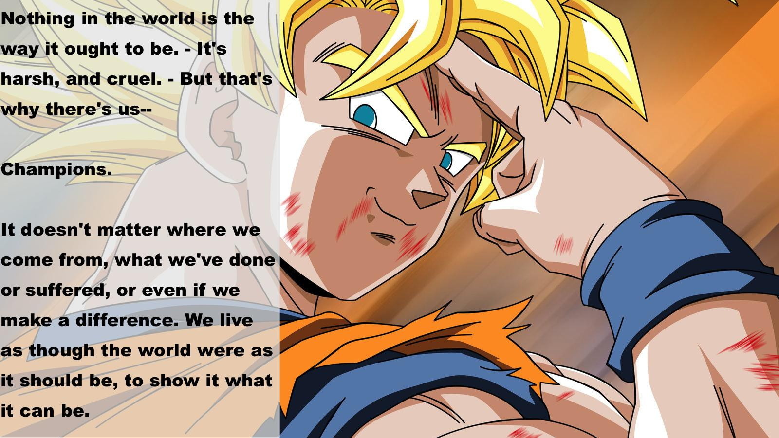 Quote Of Dragon Ball Z Quotesaga