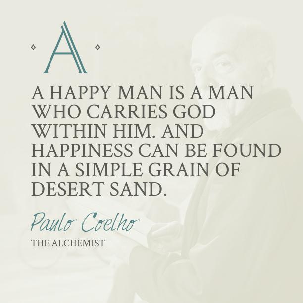 quote of the alchemist quotesaga