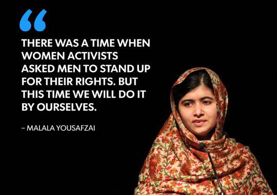 Quote Of Malala Yousafzai Quotesaga