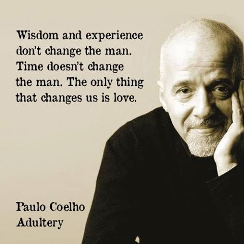 Quote Of Paulo Coelho QuoteSaga - Time changes in us