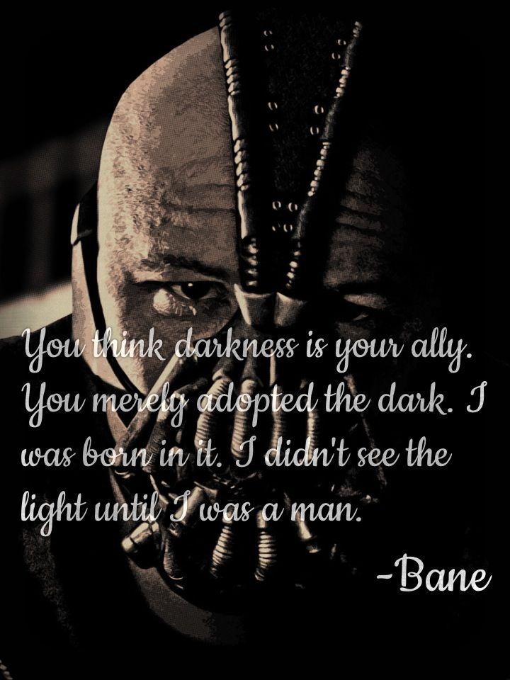 Quote Of The Dark Knight Rises Quotesaga