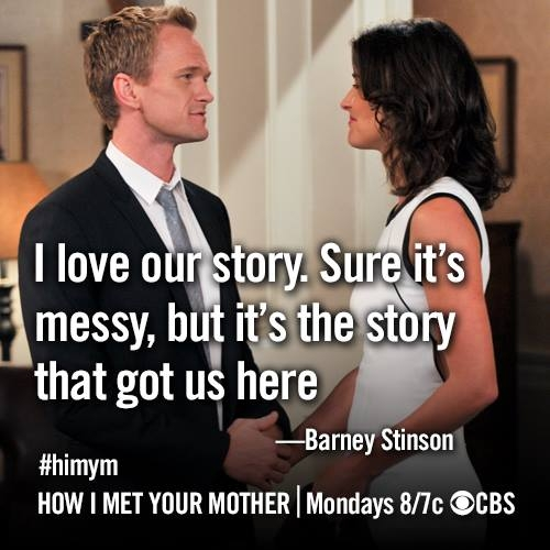 Himym Love Quotes Custom Quote Of How I Met Your Mother QuoteSaga