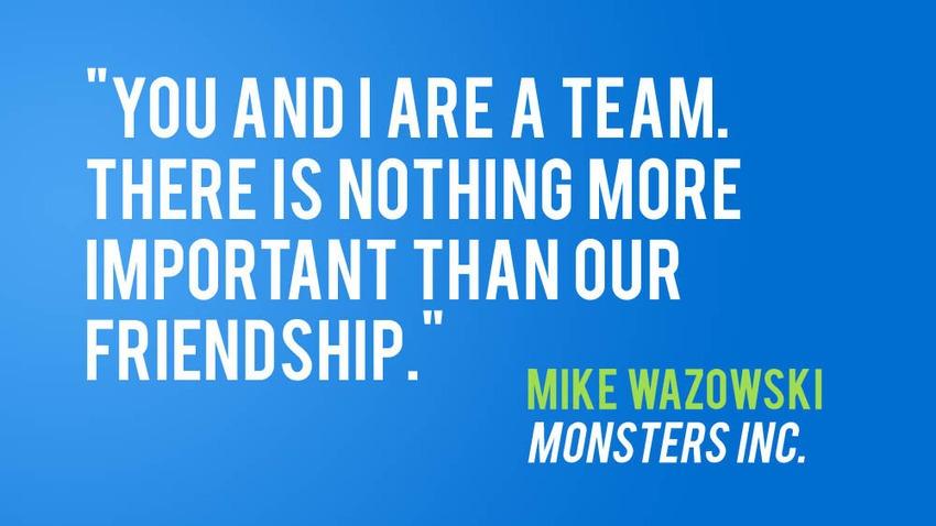team friendship quotes