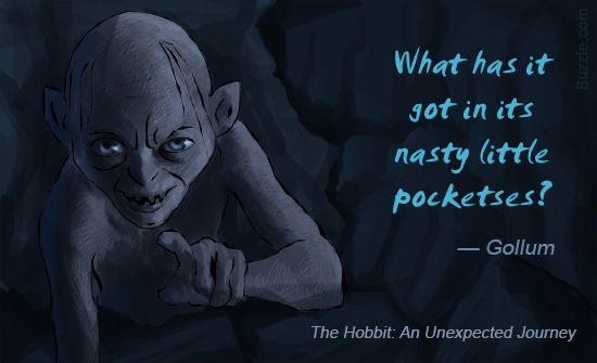 Quote Of The Hobbit An Unexpected Journey Quotesaga