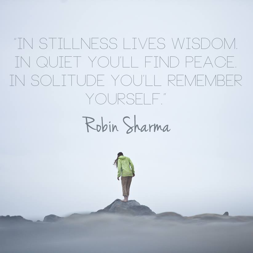 Image result for quote about only in stillness