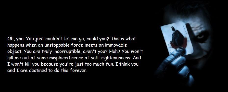 Quotes Of The Dark Knight Quotesaga