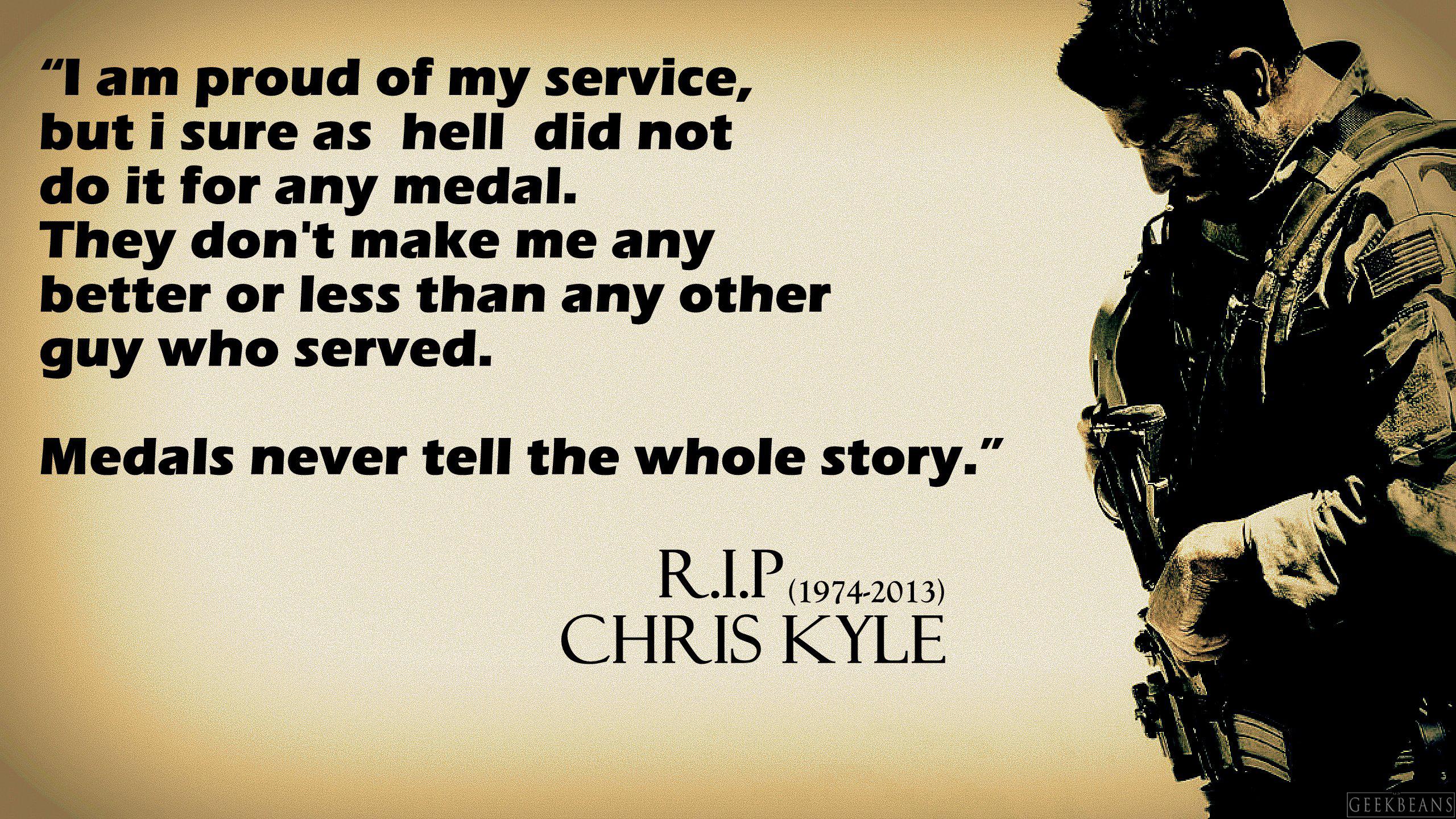 Quote Of American Sniper Quotesaga