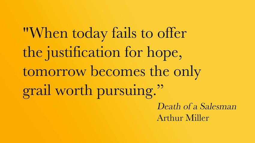 Quote of Death of a Salesman | QuoteSaga