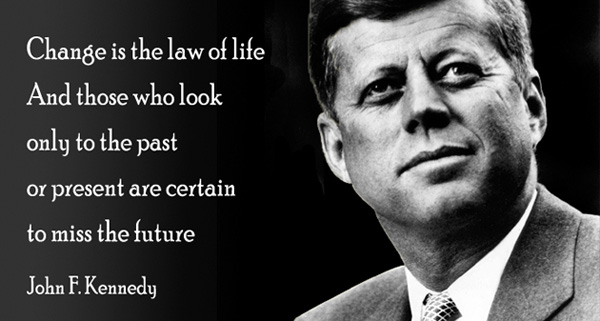 Quote Of John F Kennedy Quotesaga