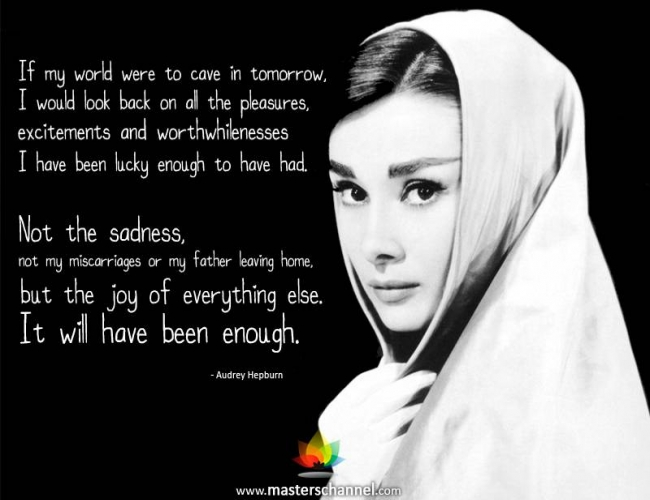 Audrey Hepburn Quotes | Quote Of Audrey Hepburn Quotesaga
