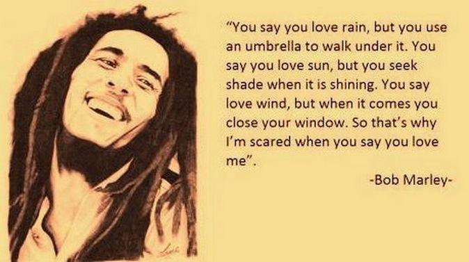 Quote Of Bob Marley Quotesaga