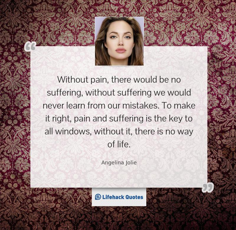 Quote Of Angelina Jolie Quotesaga