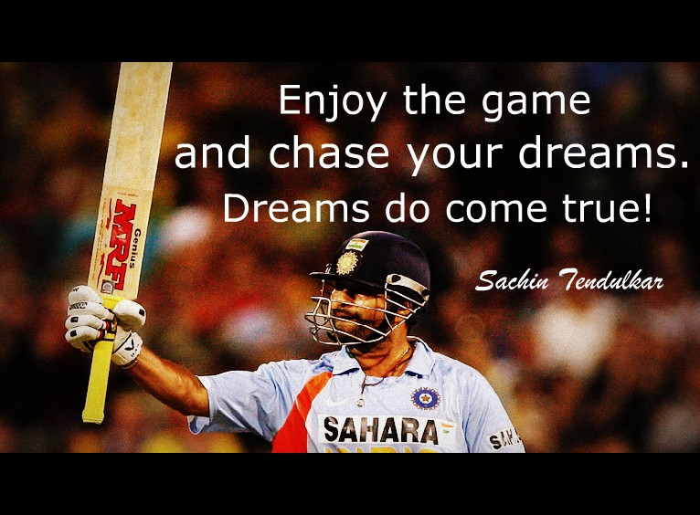 Quote Of Sachin Tendulkar Quotesaga
