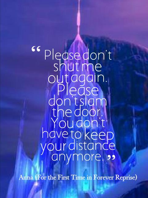 Quotes of Frozen | QuoteSaga