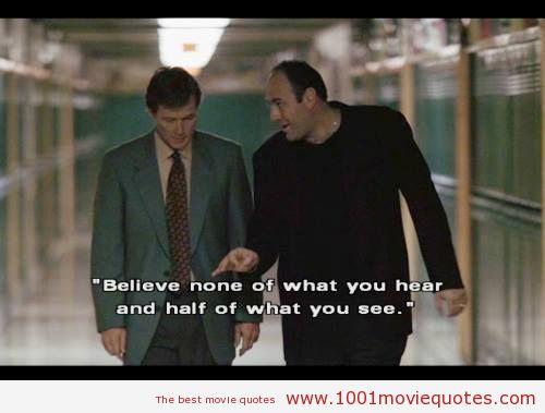 Quote Of The Sopranos Quotesaga