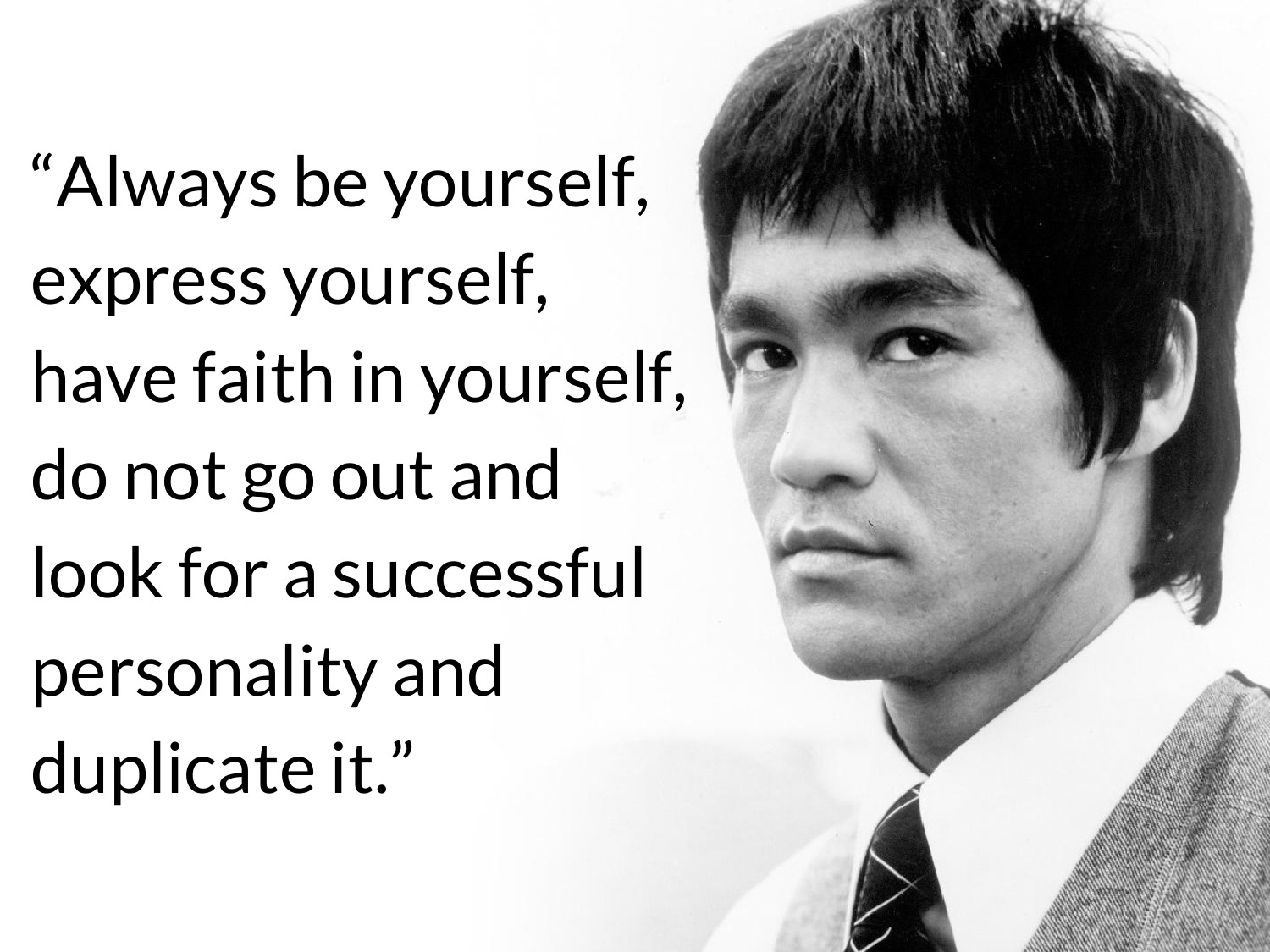 Connu Quote of Bruce Lee | QuoteSaga JR57
