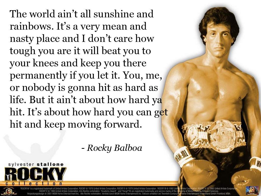 Quote Of Rocky Quotesaga