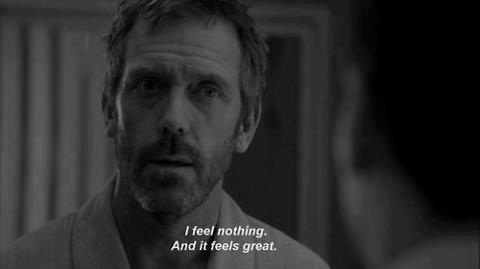 dr house quotes about love