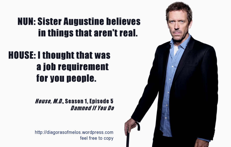 House Md Quotes | Quotes Of House M D Quotesaga