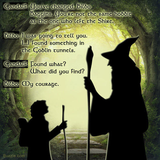 Bilbo Baggins Quotes Stunning Quote Of The Hobbit The Desolation Of Smaug QuoteSaga