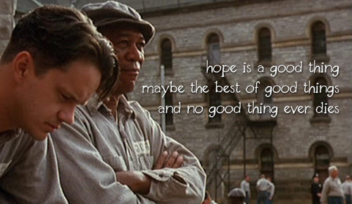 quote of the shawshank redemption quotesaga