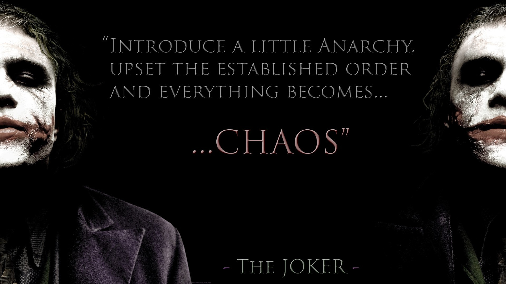 Quote of The Dark Knight | QuoteSaga