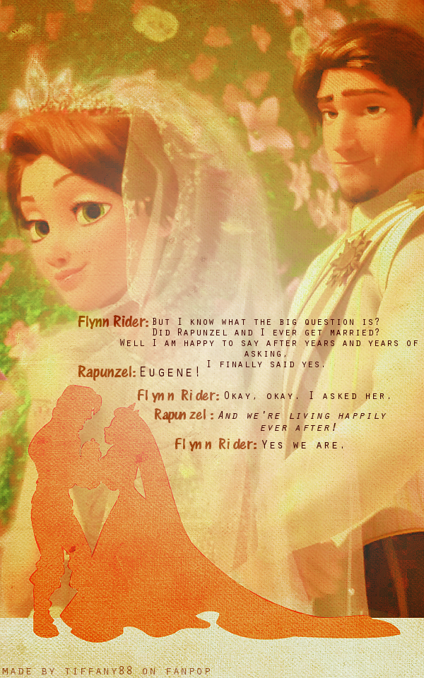 Finest Tangled Wallpaper Rapunzel And Flynn With